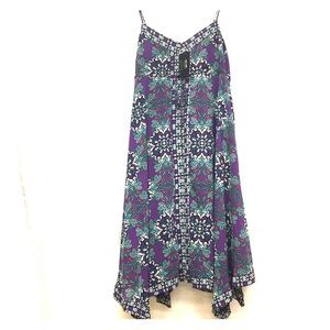 Nicole Miller sleeveless floral  Sz 16 Dress C